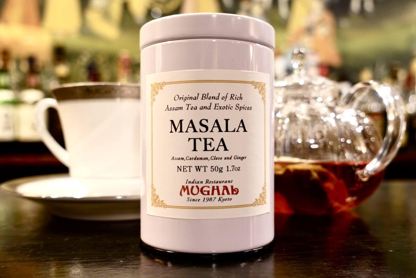 ムガール オリジナルブレンド マサラティー・白缶