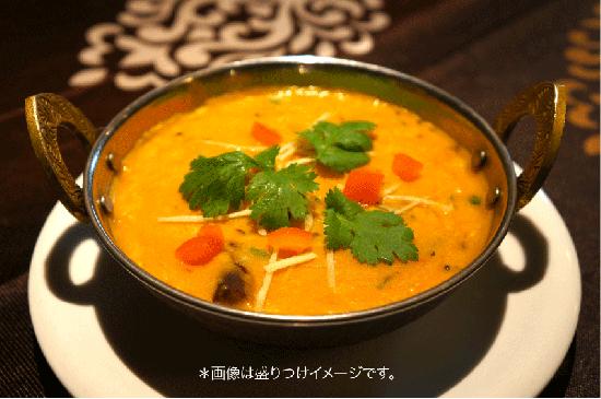 ダールフライ(ムング豆のカレー)