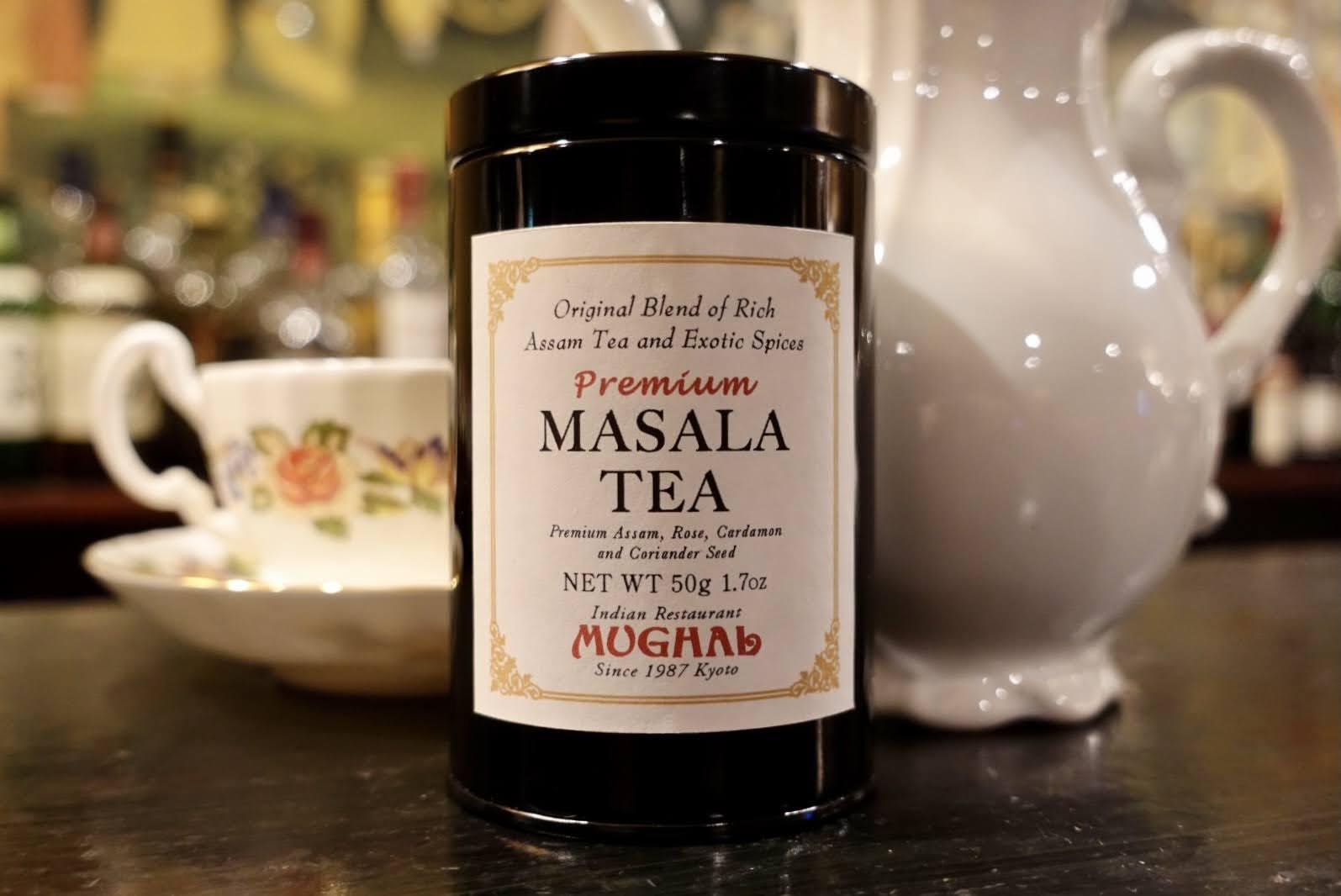 ムガール オリジナルブレンド マサラティー・黒缶